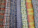 Tweed Bastelset, Blau und Grün