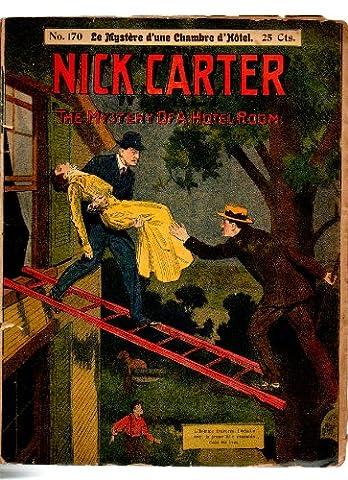 nick carter.n° 170.le mystère d'une chambre d'hôtel.30 pages.non