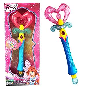Winx Club Bloom Mythix Magic Scepter With Light And