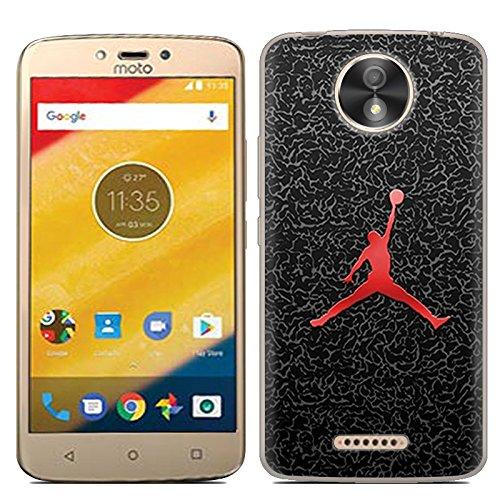 Easbuy Handy Hülle Soft Silikon Case Etui Tasche für Lenovo Motorola Moto C Plus Smartphone Cover Handytasche Handyhülle Schutzhülle