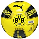 Puma Ball BVB Fanwear, Black/Ebony/Cyber Yellow, 4, 082534 01