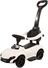 GoodLuck Baybee - Kids Ride On Push Car Toy for Babies | Music with Parent Control Push Bar Toy Car & Small Toy Toddlers Baby Toys | Kids Toy Car Suitable for Boys & Girls (1-3 Years)(White)