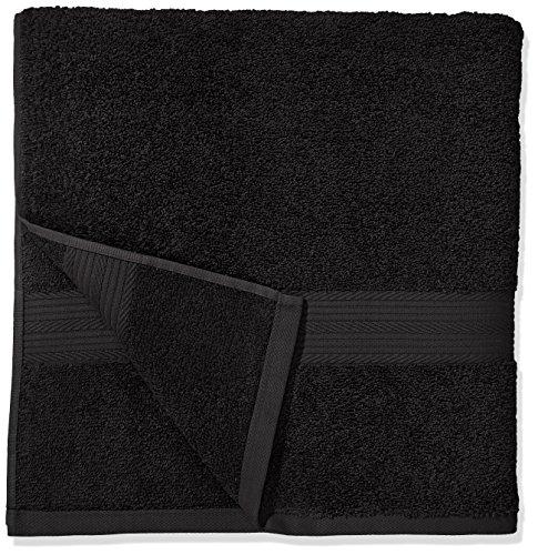 Handtuch Schwarz – Set 2 Badetücher & 4 Handtücher - 4