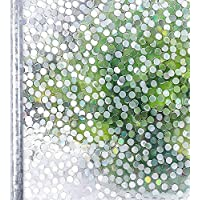 Homein Vinilo Ventana para Privacidad Vinilos Cristal Electricida Estática Pegatina Adhesivo Mampara Ducha Baño, 44.5 * 200cm, Película Facíl Quitar y Reutilizar de Baño Cocina Oficina Anti UV, Bambú