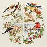 Anchor Kreuzstich-Bild Birds and Seasons, verschiedene Farben