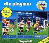 Die Playmos - Die Große Fußball-Box; Folge 7, 51 und 60; 3-Original-Hörspiele