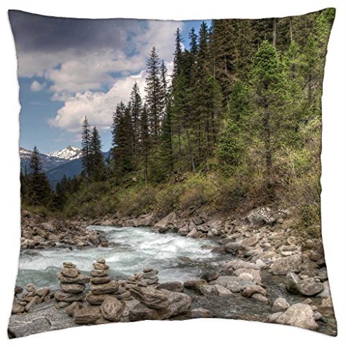 stone-cairns-along-a-beautiful-mountain-stream-throw-pillow-cover-case-18
