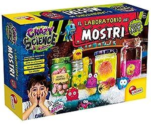 Lisciani Giochi - 77274 Juego para niños Crazy Science la fábrica de los Monstruos El Tempo