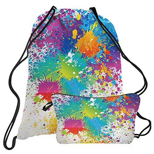 Colorful Tie Dye Sports Bag