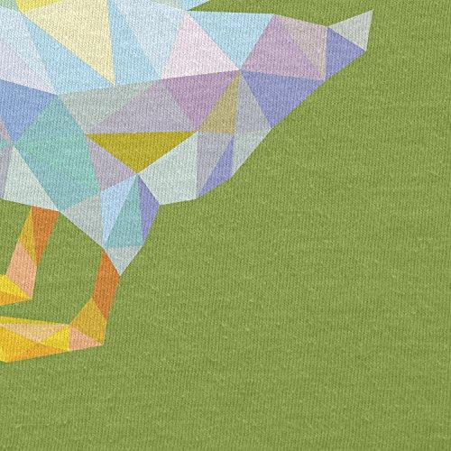 Texlab–Poly Duck–sacchetto di stoffa Verde chiaro