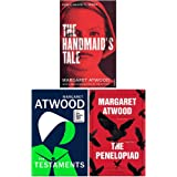 Margaret Atwood Collection 3 Books Set (the Handmaid's Tale, the Testaments, the Penelopiad)