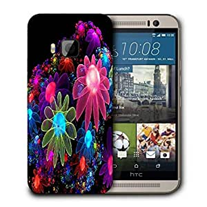 Snoogg Abstract Colorful Wallpaper Printed Protective Phone Back Case Cover For HTC One M9