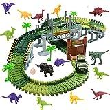 Harxin Circuito Coches Juguete Pista de Dinosaurio Coche Eléctrico...