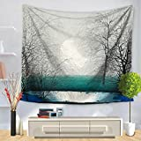 X&Y Tapestry Landscape Scenery Big Tree Pattern Wall Hanging Decorative Cloth , 130*150cm , c