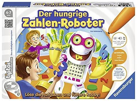Ravensburger 00706 - tiptoi Spiel Der hungrige Zahlen-Roboter