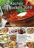 Wochenkalender 54 beste Lebensmittel der Welt 2019: DDR Kochen und Backen 2019
