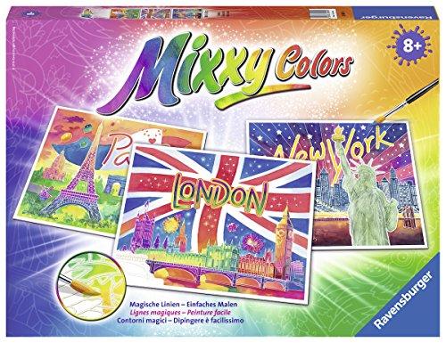 Ravensburger 29491 - Weltstädte, Mixxy Colors Maxi Malsets