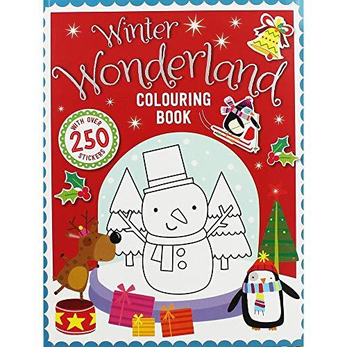Make Believe Ideas Winter Wonderland Malbuch