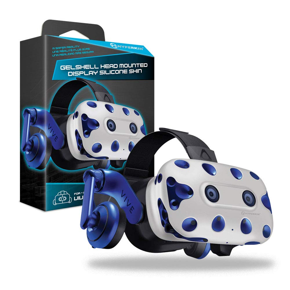 Housse Silicone Gelshell – Casque VR – blanc (HTC Vive Pro)