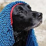 Toallas Para Perros, Ultra Absorbente Toallas de Microfibra de Chenilla Para Perros con Bolsillos Para las Manos, Durable, de Secado Rápido, Lavable, evitar que el lodo de la Suciedad