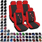 Best Car Seat Covers - Woltu #282 Black/Red Polyester Car Seat Covers Full Review