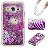 BoxTii Samsung Galaxy Core Prime Case [with Screen Protector], Rhinestone Soft TPU Cover