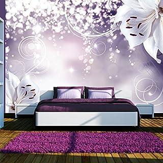 Lila Tapete Schlafzimmer. Murando   Fototapete Blumen 400x280 Cm   Vlies  Tapete   Moderne Wanddeko   Design Tapete
