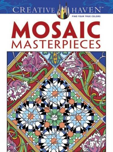 Mosaic Masterpieces (Dover Design Coloring Books)
