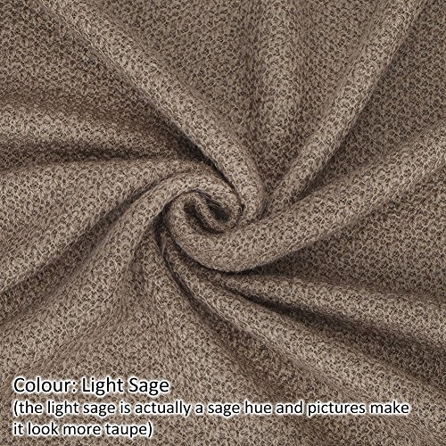 Neotrims HoneyComb Texture Knit Fabric Jersey, Photography Bcakdrops and Apparel, Great Price for a wide fabric with Great Yield, 6 Earthy Colours: Black, Beige, Mocha Brown, Camel, Off White and Sage Polyester Polar-fleece