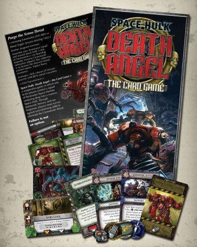 (Death Angel: Space Hulk: The Card Game) By Fantasy Flight Games (Author) unknown_binding on (02 , 2011)