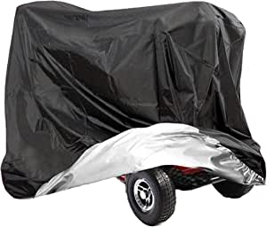 Vvvhooy 210d Oxford Heavy Duty Waterproof Scooter Cover 4 Wheels All Weather Outdoor Protection 170x61x117cm Drogerie Körperpflege