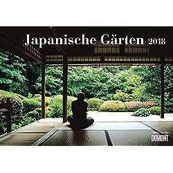 Japanische Gärten 2018 - Broschürenkalender - Wandkalender - mit Jahresplaner - Format 42 x 29 cm