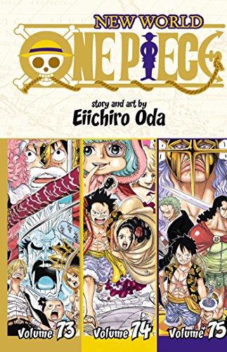 One Piece (3-in-1 Edition), Vol. 25: Includes vols. 73, 74 & 75
