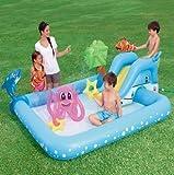 Best Inflatable Water Slides - BESTWAY INFLATABLE AQUARIUM FISH SPLASH PLAY PADDLING POOL Review