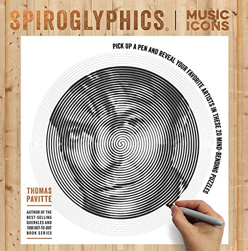 Spiroglyphics: Music Icons por Thomas Pavitte