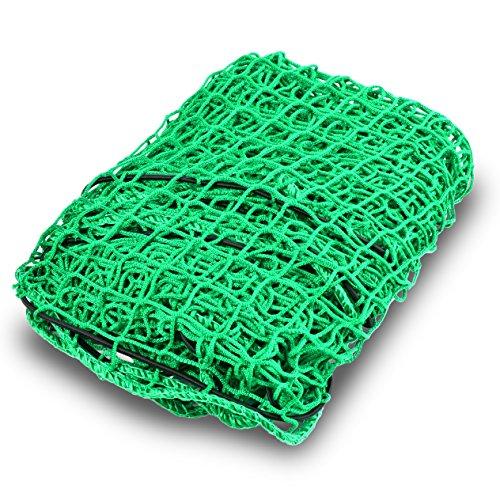 Motoscale Anhängernetz 1,50 x 2,20m zur Ladungssicherung | Containernetz | Ladungssicherungsnetz | Abdecknetz | Netz für Anhänger PKW (1,5 x 2,2m)