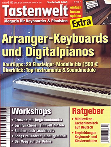tastenwelt EXTRA: Arranger Keyboards und Digitalpianos - Ratgeber - Workshops