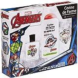 Corine De Farme | Avengers Coffret Cadeau | Marvel | Parfum Enfant 50ml | Gel Douche Enfant 250ml | Porte-clés | Fabriqué en