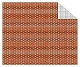 Ursus 11404603Cartulina de construcción, 300g/m², 10Hojas, DIN A4, ladrillo Piedras
