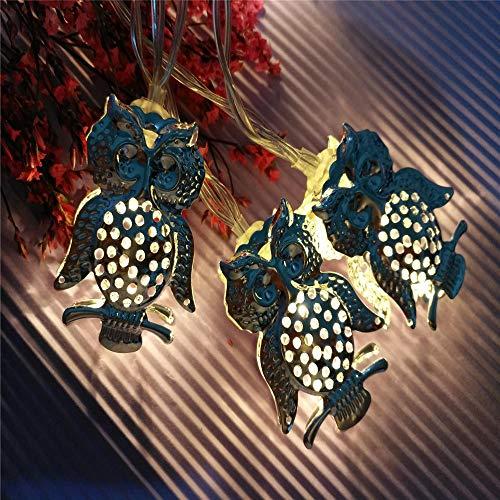 Led Eule Fairy Light, Laterne Fairy String Licht Für Weihnachten Outdoor, Garten, Indoor, Party Dekorationen