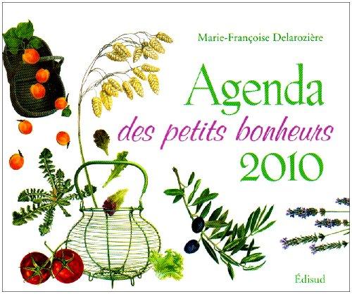 Agenda des petits bonheurs 2010