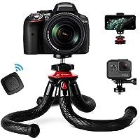 Fotopro Handy Stativ, Flexibel Smartphone Stativ, leicht Kamera Stativ mit Bluetooth…