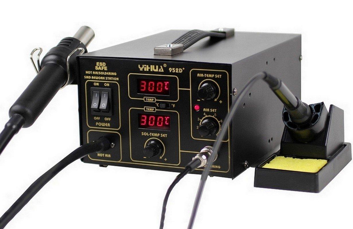 Yihua 952D+ – Italtronik–Estación de soldadura y desoldadura de aire caliente