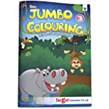 Blossom Jumbo Colouring Book for Kids 6 years to 8 years old   Drawing, Coloring and Art Book for Girls and Boys   A3 Colour