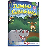 Blossom Jumbo Creative Colouring Book | 6 to 8 years old Children | Best Gift to Children for Painting, Coloring and Drawing with Colour Reference Guide | A3 Size | Level 3