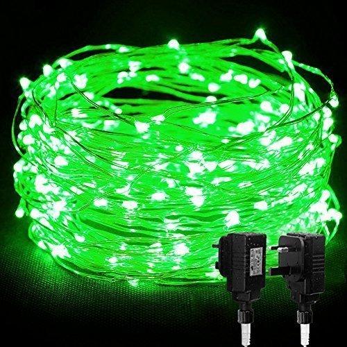 Green LED Christmas Lights: Amazon.co.uk