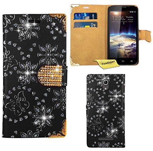 vodafone-smart-4-power-handy-tasche-foneexpertr-bling-luxus-diamant-hulle-wallet-case-cover-hullen-e