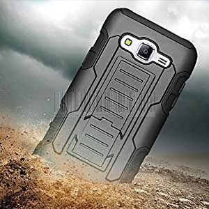 Generic Black, For Galaxy A7 : Rugged Shockproof Armor Impact Hard Case Cover Holster+Belt Clip For Samsung Galaxy A3/A5/A7/J1 Ace/J5/J7/J3 J7 2016/S6/S7 Edge