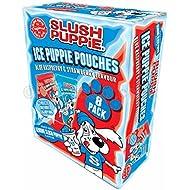 Slush Puppie Ice Puppie Pouches Blue Raspberry & Strawberry Flavour (8x62ml)