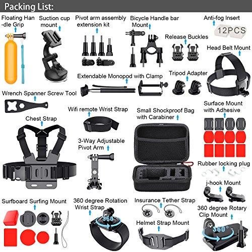 Kit 54 accesorios Leknes para GoPro